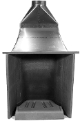 "BSV 28 Tall, 8"" Flue"